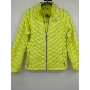 The North Face womens  puffer coat outdoor hiking
